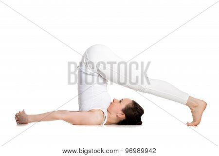 Yoga Plow Pose
