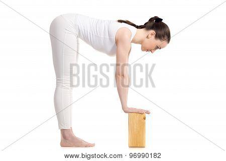 Yoga Ardha Uttanasana Pose