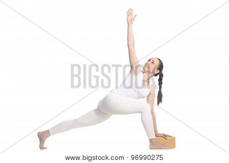 Parivrtta Parsvakonasana For Beginning Yoga Student