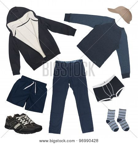 set of clothes for boy