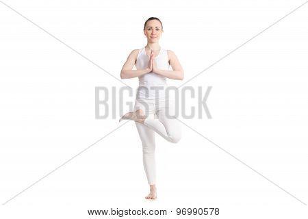Yoga Ardha Padma Vrikshasana Pose