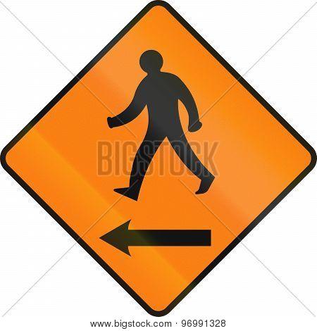 Pedestrians On The Left In Ireland
