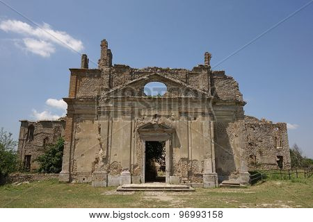 Abandoned Church In Monterano