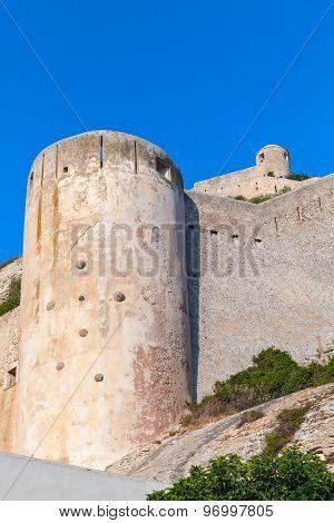 The Citadel At Bonifacio, Corsica Island