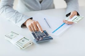 picture of calculator  - business - JPG
