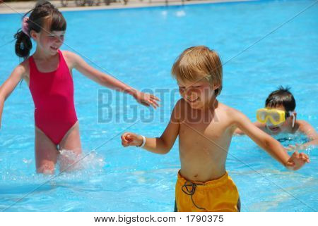 Children In Pool