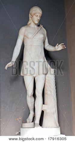 Vatican. A statue