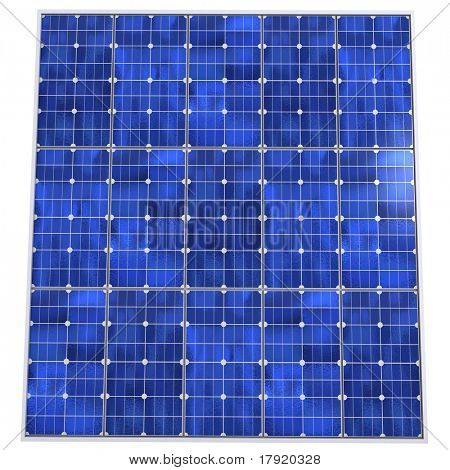 Solar panel pattern background