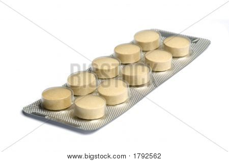 Yellow Pills In Package