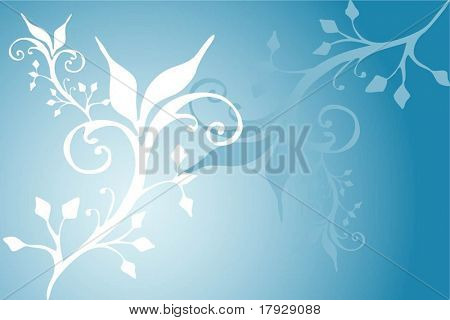 Floral design - vector