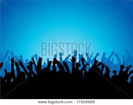 Begeistert Publikum - vector