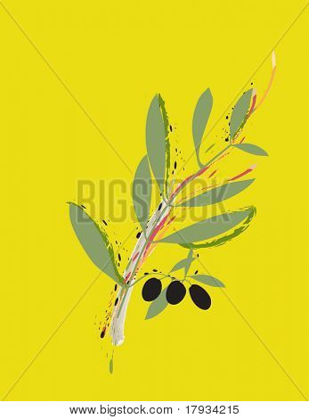 Vector Olive Branch