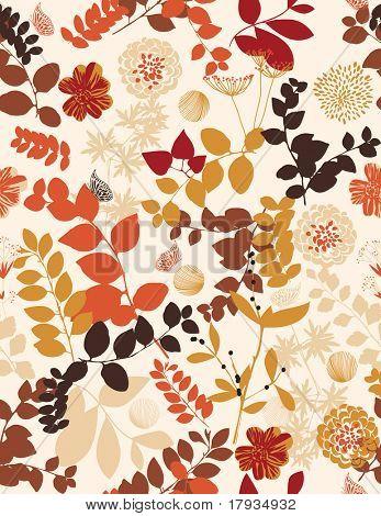 Floral (Seamless Pattern)