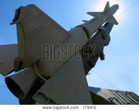 Alte russische ballistische Flugkörper