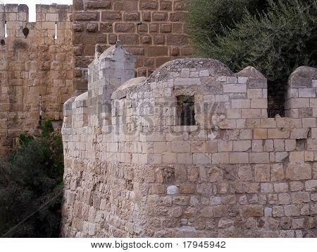 Tower Of David The Old City Walls Of Jerusalem Israel