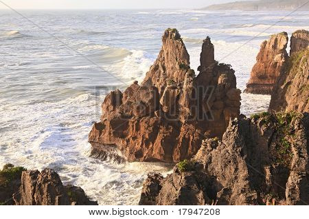 Part Of Pancake Rock Canyon