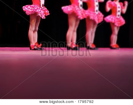 Tap Dancers On Stage