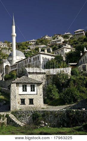 pocitelj village near mostar in Bosnia Hercegovina
