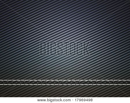 Horizontally Stitched Carbon Fiber