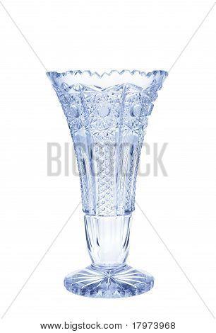 Antique vase - cut glass
