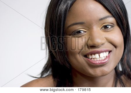 Attractive Young Black Woman