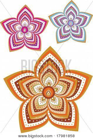 Indische Muster