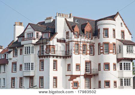 Edinburgh Ramsay Garden Block Of Flats