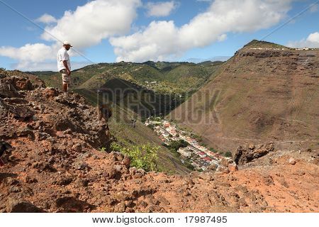 Walking the hills of St Helena
