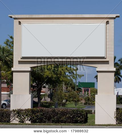 Blank Marquee