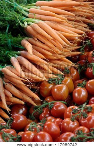 Carrots & Tomatoes