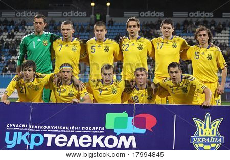 Ukraine National Soccer Team