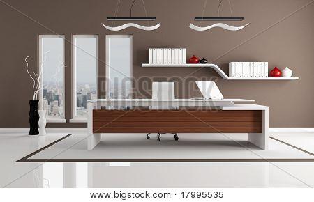 Braun Modern Office