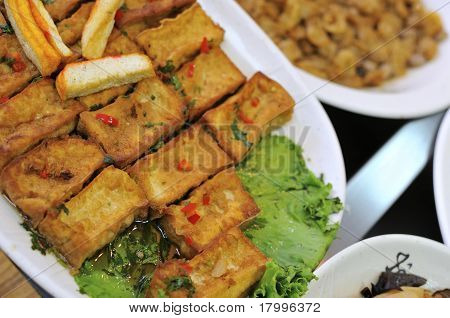 Special Fried Bean Curd Dish