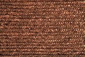 basket handcrafted texture macro closeup detail in brown