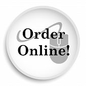 Order Online Icon poster