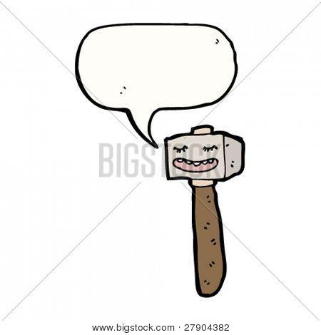 talking mallet cartoon
