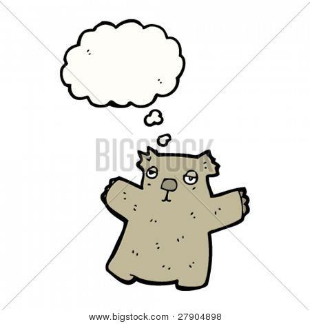 sleepy wombat cartoon character