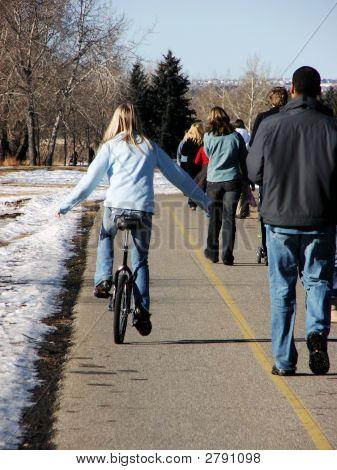 Ride Against Traffic