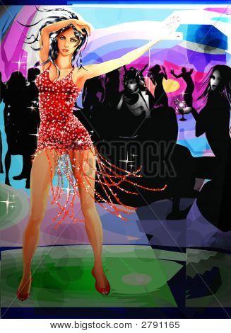 Beautiful Dancing Model