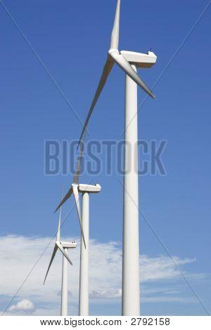 A Windmill Trubines
