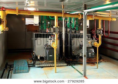 Mini boiler.