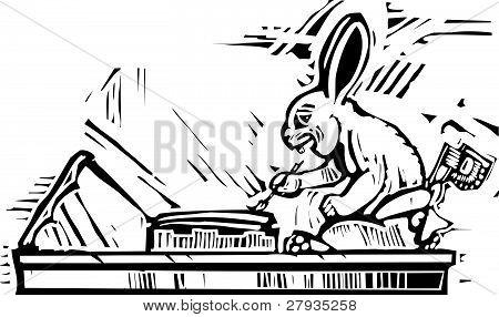 Mayan Rabbit Scribe