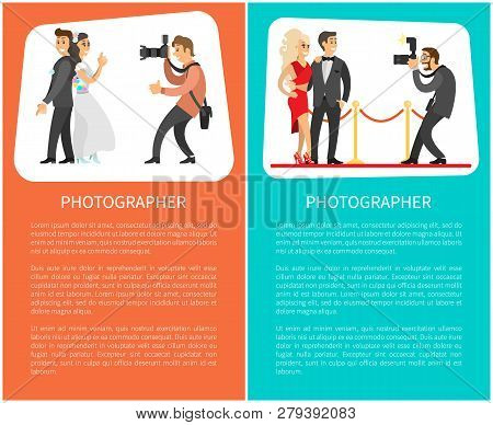 Wedding Photographer And Paparazzi Posters