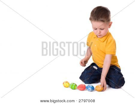 Playing With Easter Eggs