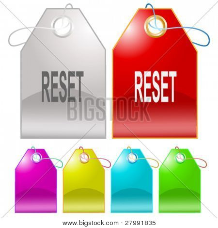 Reset. Vector tags.