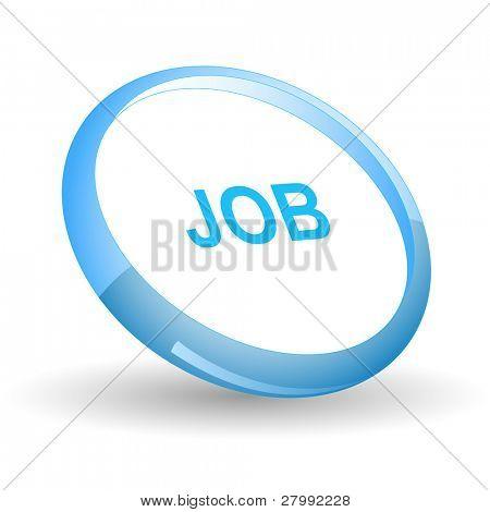 Job. Vector icon.