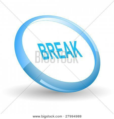 Break. Vector icon.