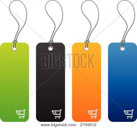 Various Product Price Tags