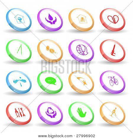 Vector set of rings