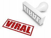 Viral Rubber Stamp